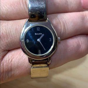 Bulova Watch Buckle Closure Vintage